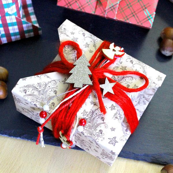 Geschenkbox Weihnachten.Geschenkbox Origami Faltbox Handgefaltet Weihnachten